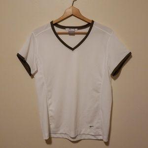 A Nike tee shirt